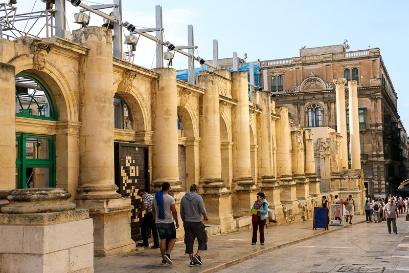 Theater in Valletta