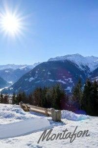 Weiße Wälder, sonnige Hänge, markierte Schneeschuhwege und ein Gipfelkino zum Niederknien. Das Montafon ist ein klasse Winterziel auch für Nichtskifahrer. #outdoor #winter #montafon #österreich