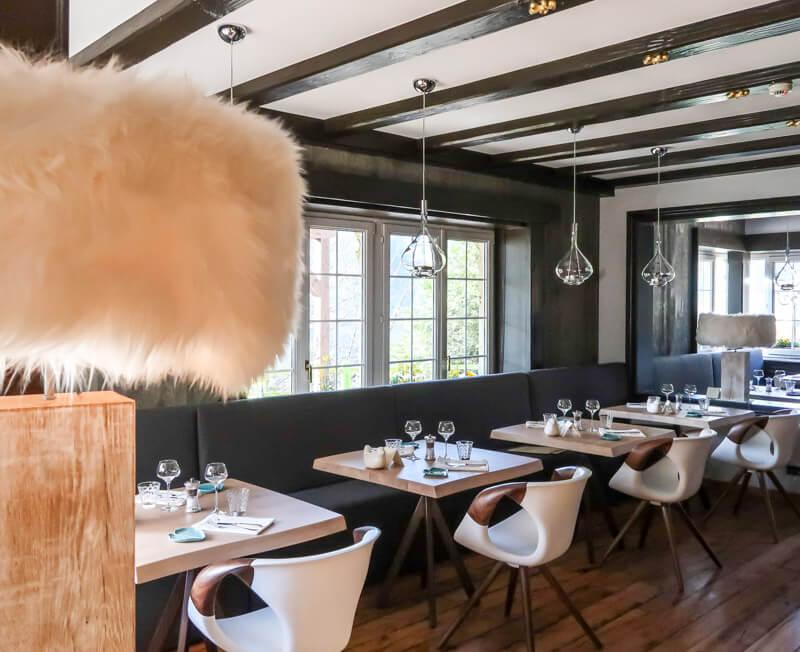 Frisch vom Feld auf den Tisch kommt vieles im Restaurant des La Chenaudière