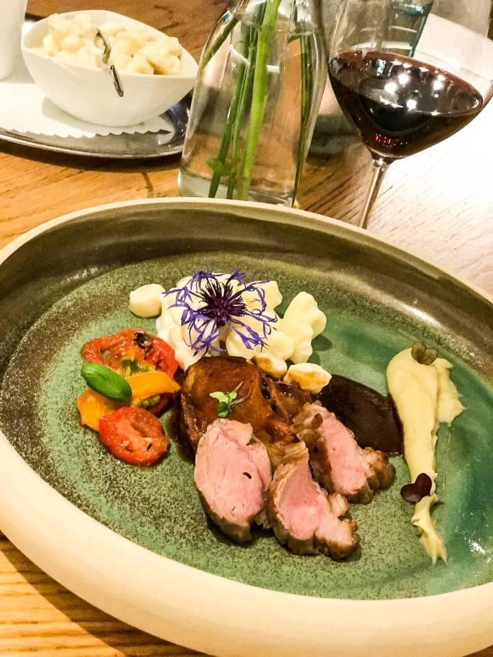 Ostalblamm: Gourmetküche bei Widmanns auf der Ostalb
