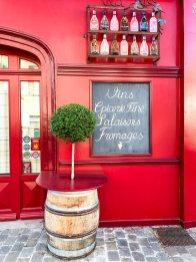 Hübsche Ladenfassaden in Mortagne-au-Perche
