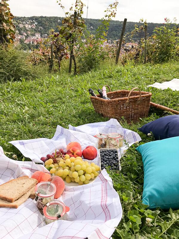 Einer der schönsten Picknickplätze in der Stadt: Karlshöhe