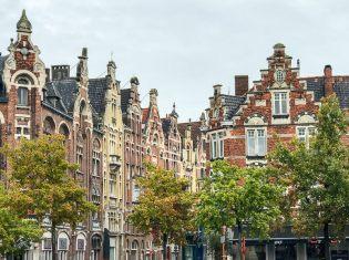 Flämische Baukunst in Gent