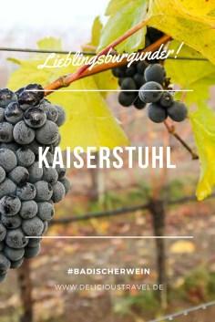 Badischer Wein neu entdeckt: Die Weinregion Breisgau gilt noch als Geheimtipp unter Weinkennern. Saftige und fruchtbetonte Burgunder-Weine machen echt Spaß und das ziemlich günstig. Am Kaiserstuhl wachsen die Weine auf Vulkanböden, die Kraft und Fülle ins Glas zaubern. #badischerwein