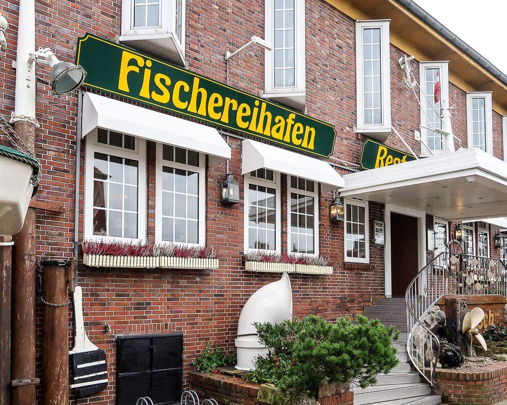 Fisch essen im Natusch in Bremerhaven