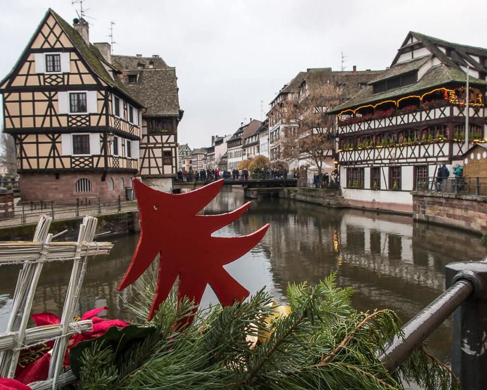 Petit France, Marché de Noel in Strasbourg