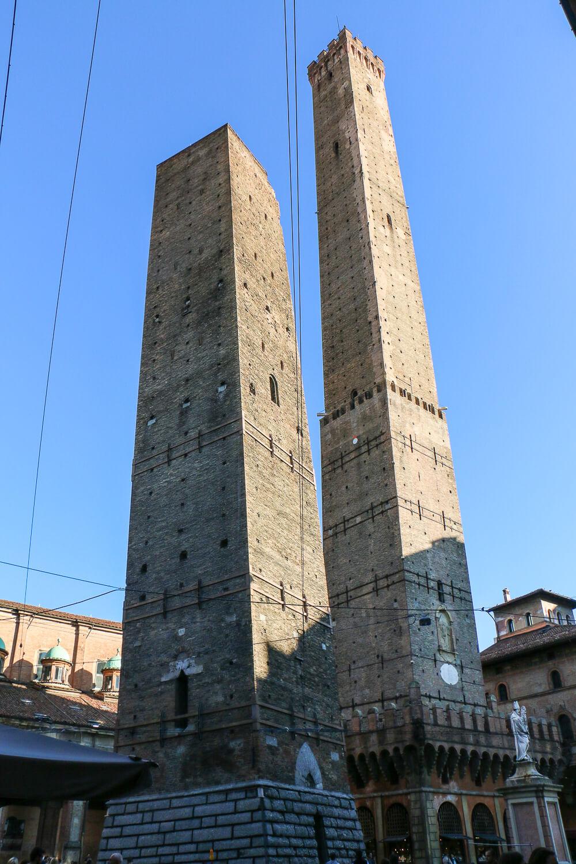 Due Torri: Die schiefen Türme von Bologna