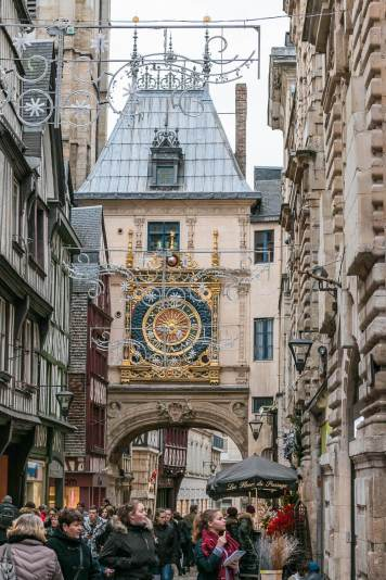 Horloge, Rouen (astronomische Uhr)