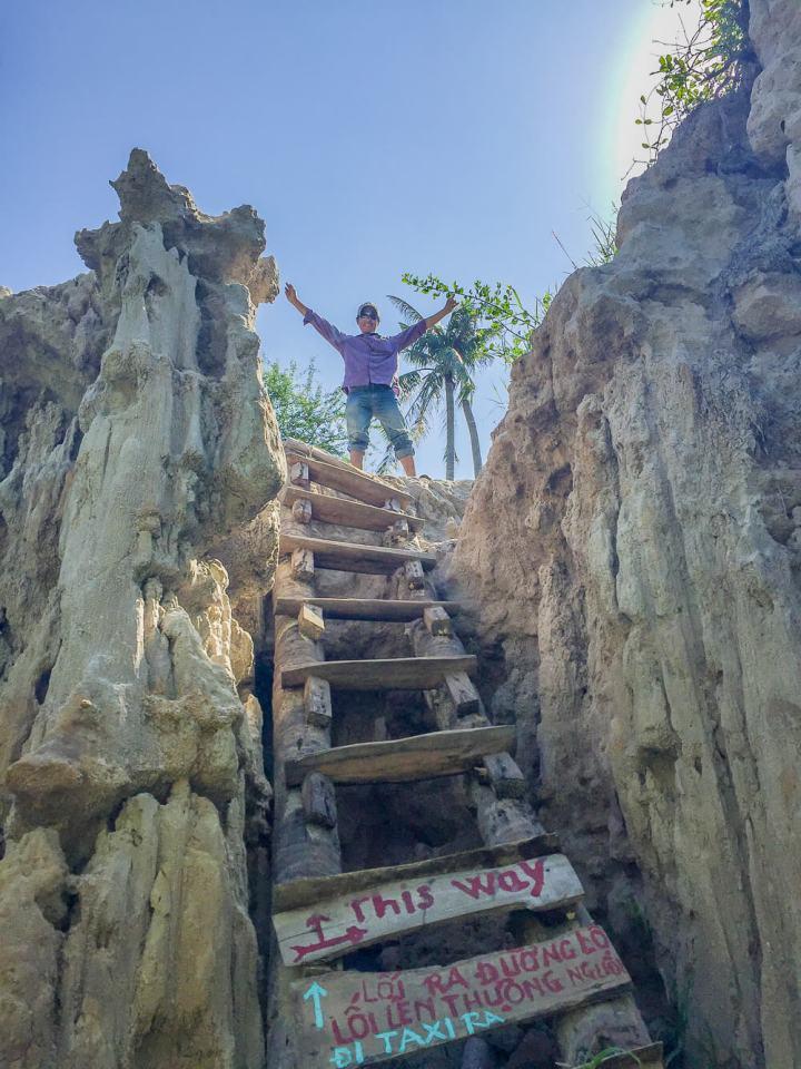 Wanderung durch den Fairy Stream #muine #vietnam #fernreise #delicious_travel