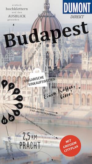 Reiseführer Budapest direkt Dumont