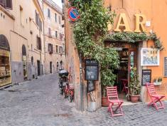 Bar in Trastevere