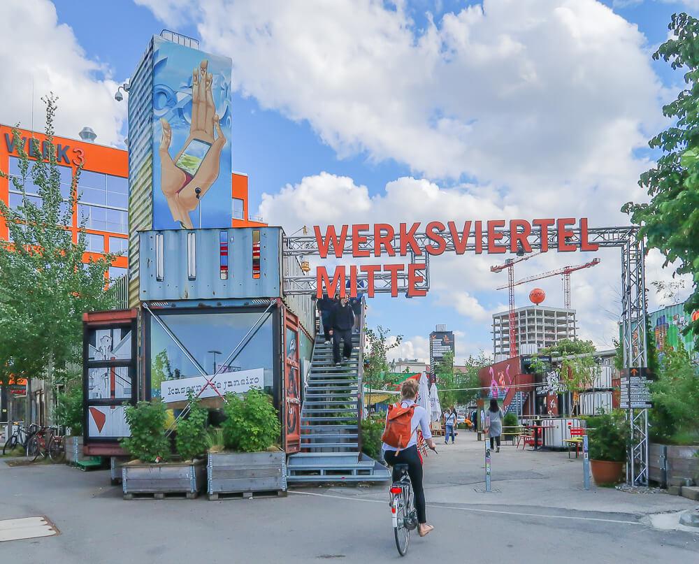 Containerdorf Werksviertel Mitte München