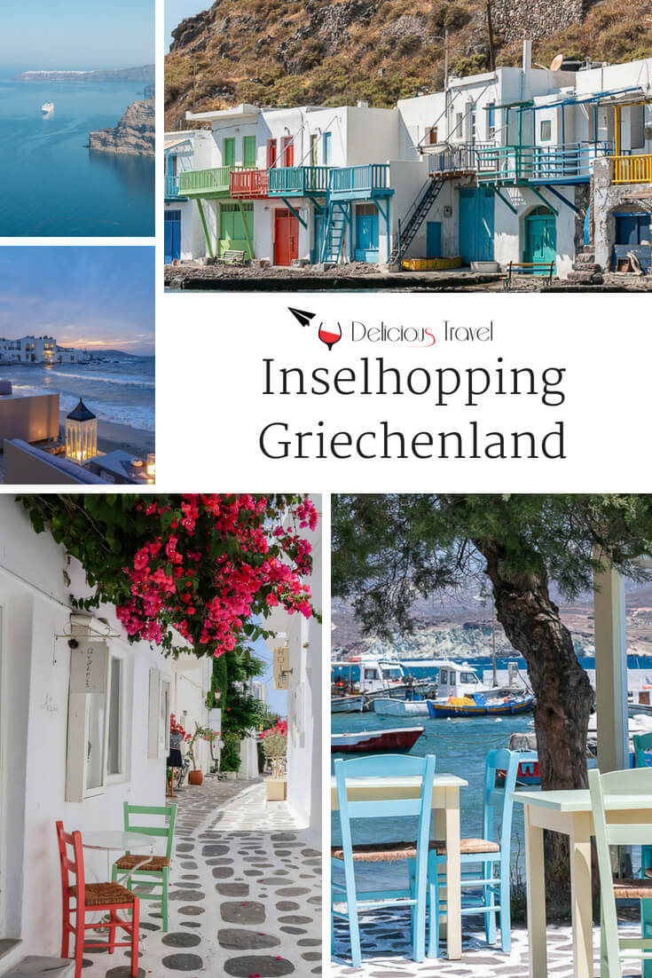 Inselhopping Griechenland, #Kykladen #Santorin #Milos #Paros
