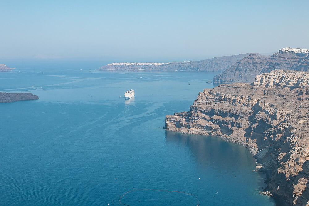 Caldera-Blick auf Santorin