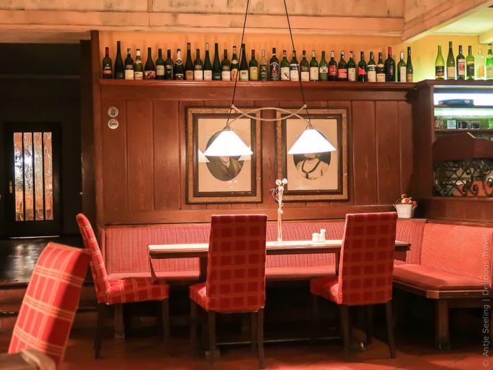 Gemütlich: Hotelrestaurant Faulenzerhotel