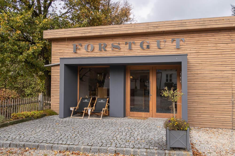 Forstgut Regen im Bayerischen Wald: Genuss im Luxus-Chalet