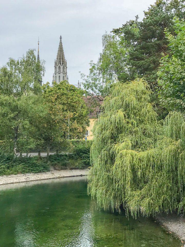 Blick aufs Münster Konstanz
