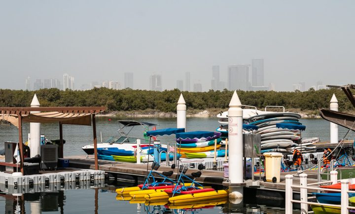 Kayaking in Abu Dhabi