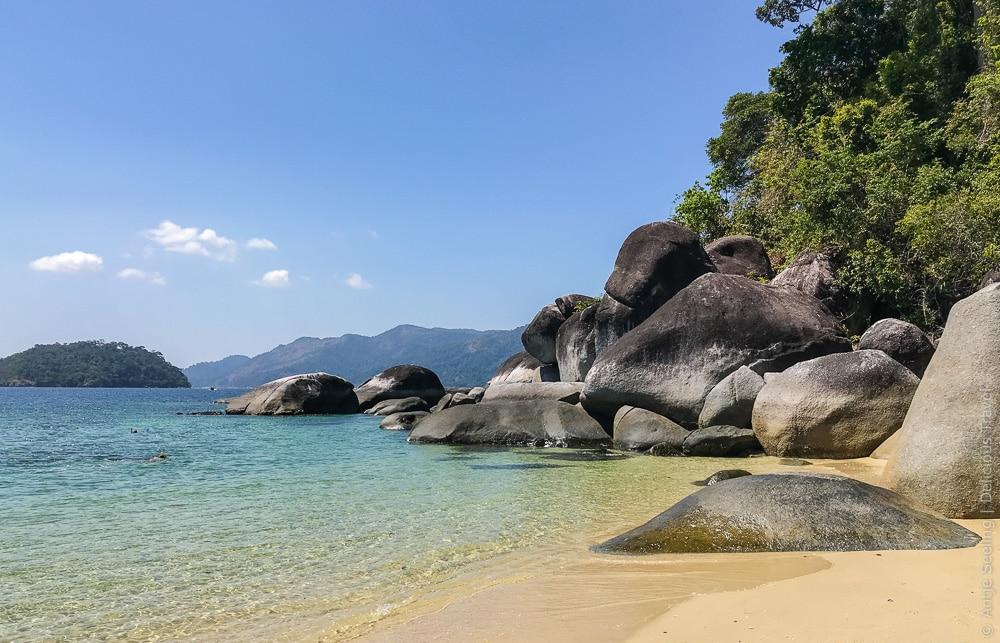 Schnorcheln am Strand von Koh Adang