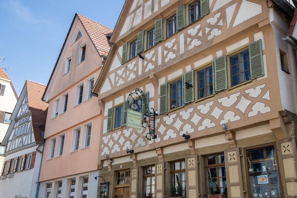 Fachwerkhäuser in Bönnigheim