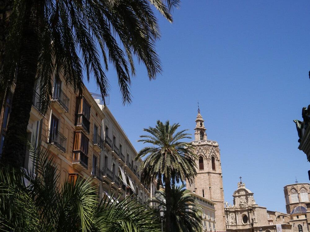 Zentrum Valencia, Spanien, Plaça de la Reina