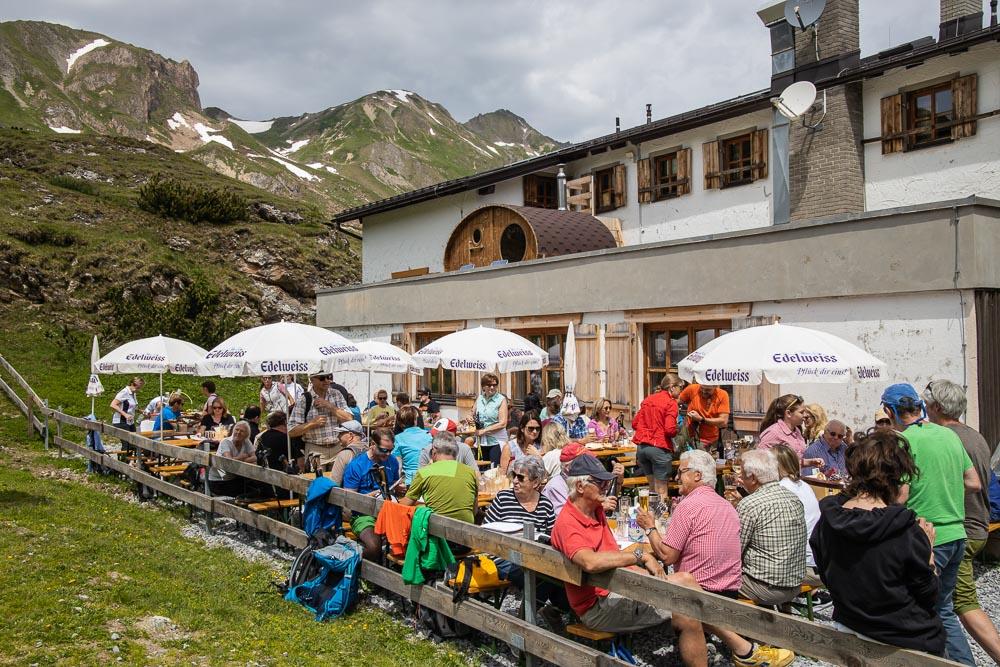 Eröffnung Kulinarischer Jakobsweg auf der Heidelberger Hütte