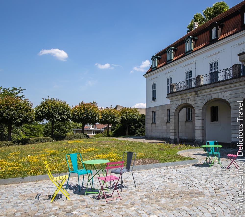Terrasse vom Lese-Café