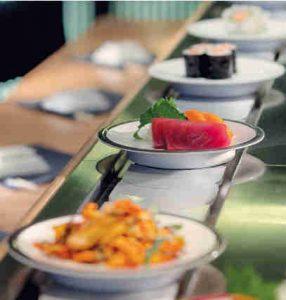 Matsuri-restaurant-japonais-comptoir tournant