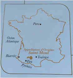 Saint-Mont-Vin-Pyrenee-gers-France