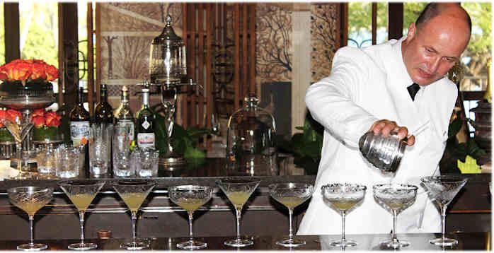 boire un cocktail sur les vols Air France