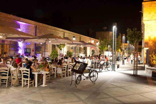 Restaurant Koutourou à Paphos sur l'île de Chypre