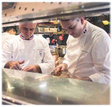réouverture du restaurant gastronomique étoilé L'Oasis de Mandelieu-La Napoule