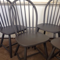 Grey Painted Chairs Cowhide Dining Chair Covers Extravaganza Delightful Designs