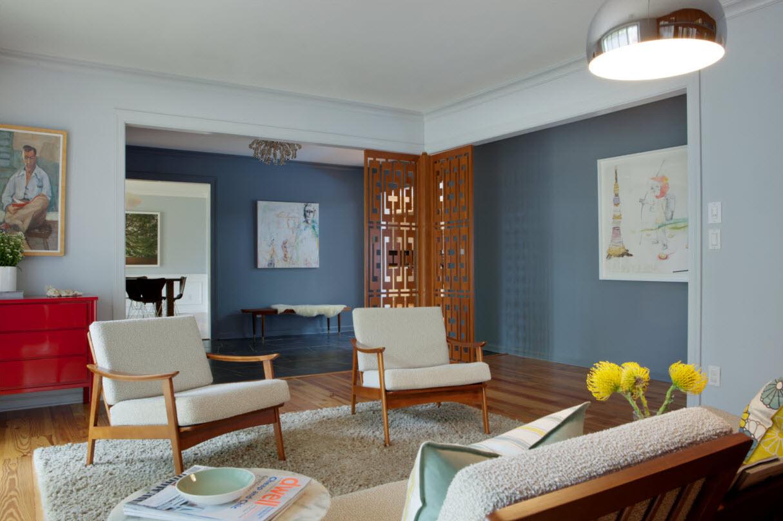 danish modern living room ideas grey walls 10 inspiring mid century rooms delightfull blog