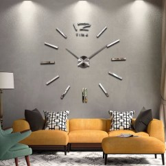 Living Room Wall Clocks Ashley North Shore Set 10 Unique For Your And Dining