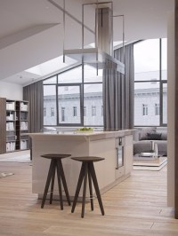 ITALIAN APARTMENT SHINING WITH CONTEMPORARY LIGHTING DESIGNS