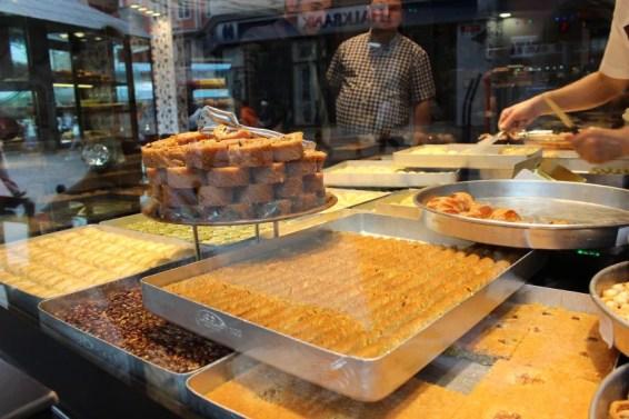 Süßwaren in Istanbul