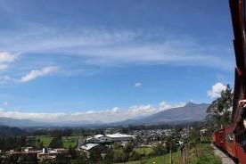 Zugfahrt durch die Anden Ecuadors