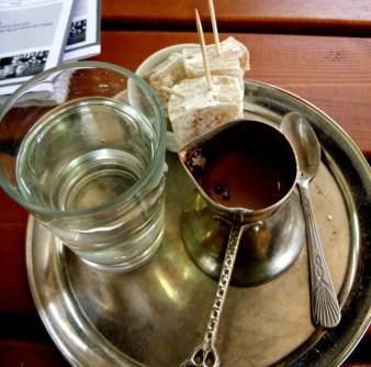 Kaffee und Süßes