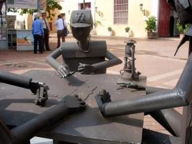 cartagena skulptur
