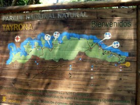 Nationalpark Tayrona Kolumbien