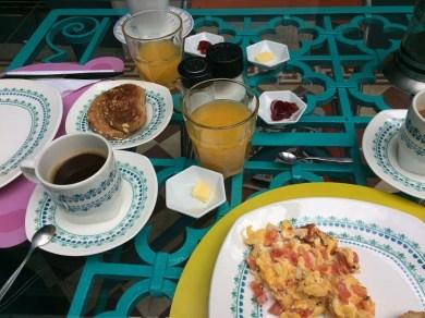 Frühstück auf kolumbianisch