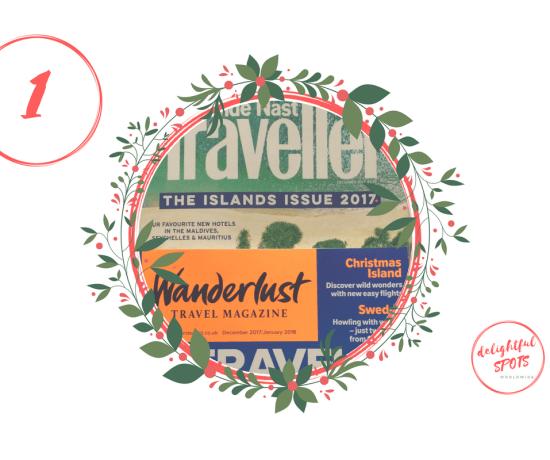 Adventskalender delightful SPOTS Reisemagazine
