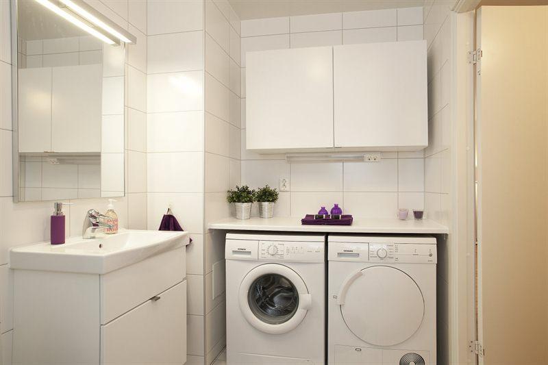 Cuartos de baño con lavadora - Blog tienda decoración estilo nórdico ...