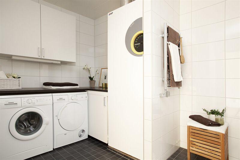 Cuartos de ba o con lavadora blog tienda decoraci n estilo n rdico delikatissen - Lavadora secadora pequena ...