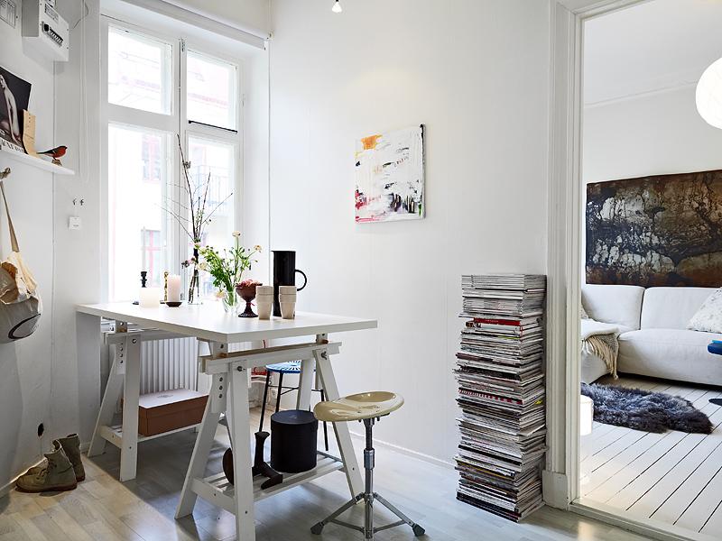 Decoraci n de un peque o piso de 31m blog tienda for Decorar piso pequeno estilo nordico