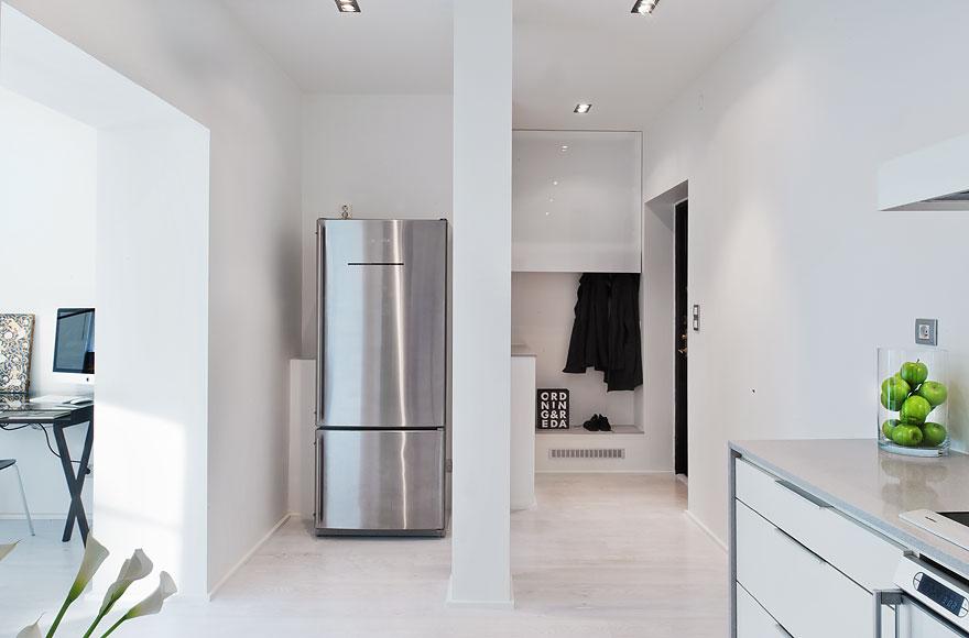 Un piso de 53 m2 minimalista sin puertas blog tienda for Blog decoracion minimalista