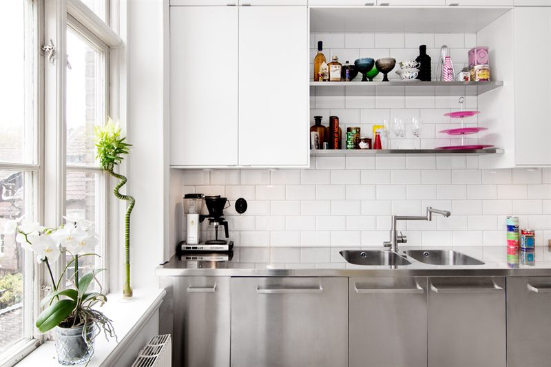 Cocina industrial y suelo de cemento Blog tienda decoracin estilo