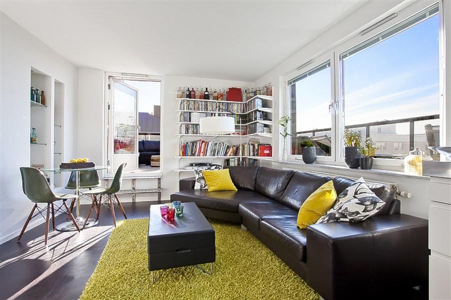 sof cuero negro piso para chicos muebles de ikea muebles de diseo iconos estilo nrdico estilo