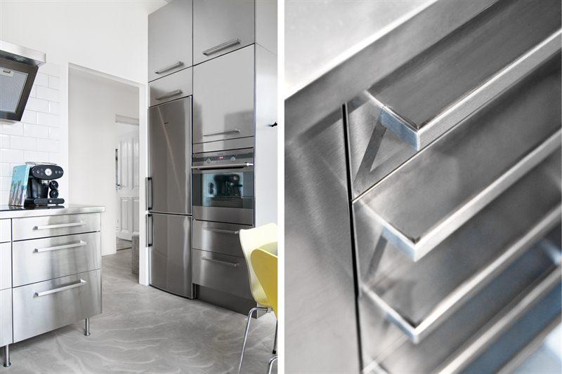 Cocina industrial y suelo de cemento - Blog decoración estilo ...